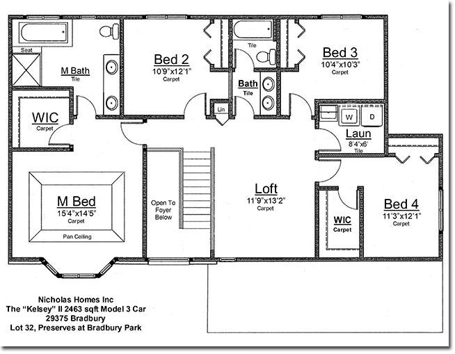 Wayne County Michigan New Home Construction Bradbury Park